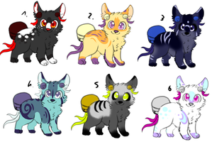 CLOSED - Bell-Tails Adoptables 285 by LeaAdoptables