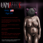 Model: Amy,  Front by unmasking-project