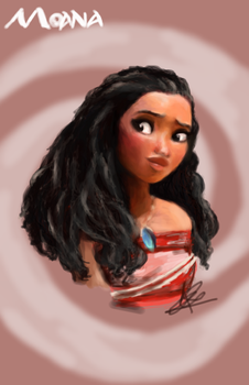 Moana, The Girl Chosen by The Ocean by Chocolate-Pyrus