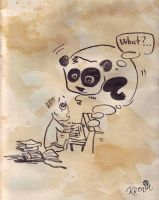 panda - gin by jelly-jellyfish