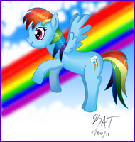Rainbow Dash by YueLoverForever