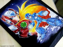 Megaman x4 - Tribute (complete) by Sano-BR