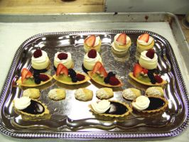 Petit Fours tray by IMntHRimEVRYWHER