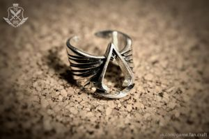 Assassin's Creed :: Ring (Handmade) by GameFanCraft