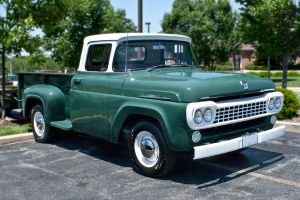 1958 Ford F250 Pickup Truck by StormPix