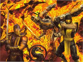 Scorpion Fire by The37thChamber