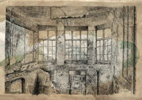 Ruine old paper by nicolasjolly