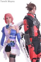 WCS - Tekken 6 - Alisa and Lars by TenchiMuyou