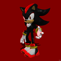 Shadow the Hedgehog by Sticklove