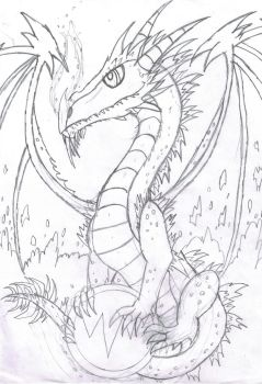 Arcticus dragon by Viperwings