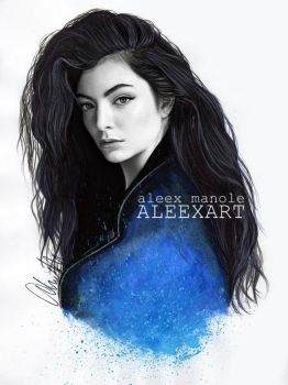 Lorde by aleexart