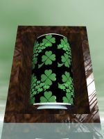St Patrick's day tin kan by Skrabalo