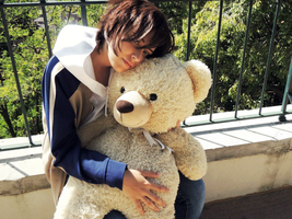 Junjou Romantica: A Teddy Hug Doesn't Hurt! by BomBomPPGFan