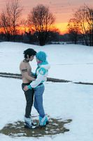 Aoba And Ren Cosplay - Love Will Thaw - DMMD by DakunCosplay