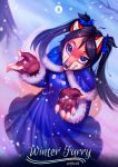 Winter Furry : Little Foxy Commission by vagab0nda