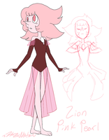 Lion Pink Pearl by HezuNeutral