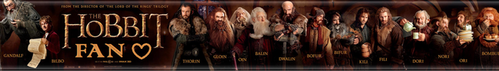 The Hobbit Fan Button by TheWhovianHalfling