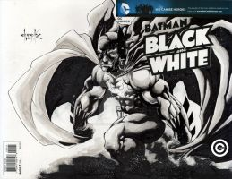 The Batman - Black and White by shadowLynXer