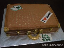 Suitcase Cake by cake-engineering