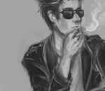 Smokin' by Ask-Red-Hood