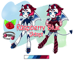 Raspberry Blue Adoptable [[OPEN]] by Omega-Fluff