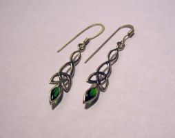 celtic earrings III by Aranglinn