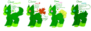 Clover Ref by TheDrawingWolf