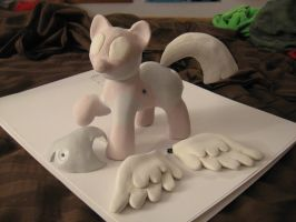 Twilight Sparkle sculpture WIP 3 by AleximusPrime