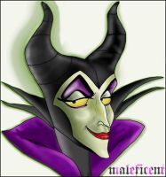 Malefica by mirror-of-madness