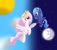 Day And Night by GypsyCuddles