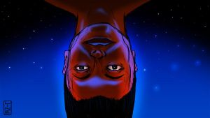 06 16 2012 Upside Down Face by LineDetail
