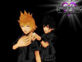 Kingdom Hearts The Liveing Memorie by sophloulou