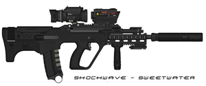 Sweetwater- 'Operator' SAR21M by Shockwave9001