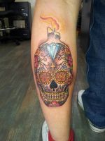 Candy Skull by coz67