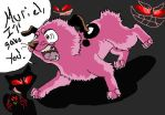 Courage the Cowardly Dog by Insaniactic-Kreep