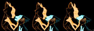 Tiny and Leona - kiss in the dark by davi-escorsin