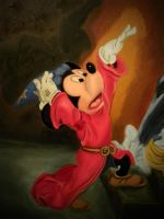 Mickey Magic Close up by luckyseven11779