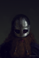 Sketch - Viking head by woutart