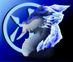 IcyCold Dragon by ahyou1991