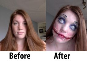 Halloween Makeup Practice 2012 by the-great-Forde