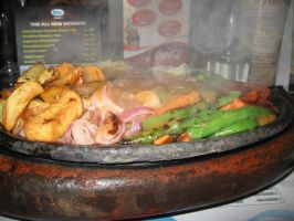 Chicken Sizzler by AbstractWater