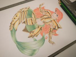 Pisces Ariel - almost there! by vitordramon