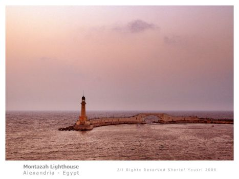 Montazah Lighthouse by Shikaz