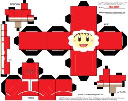 Ice Climbers Cubee - Popo Xmas by theredone1986