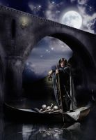 The Boatman by wolfmorphine