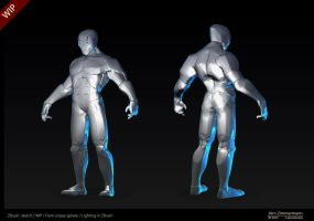 ZBrush sketch Robot 2 by Nero-tbs