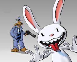 Sam and Max Hit Your Screen by Gibbo18