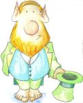 Painted Leprechaun by Macguffin
