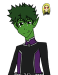 Beast boy - For ThenaHoiArt by NarniaHero