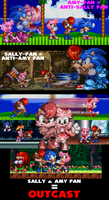 About Sally and Amy... by RaccoonShinobi